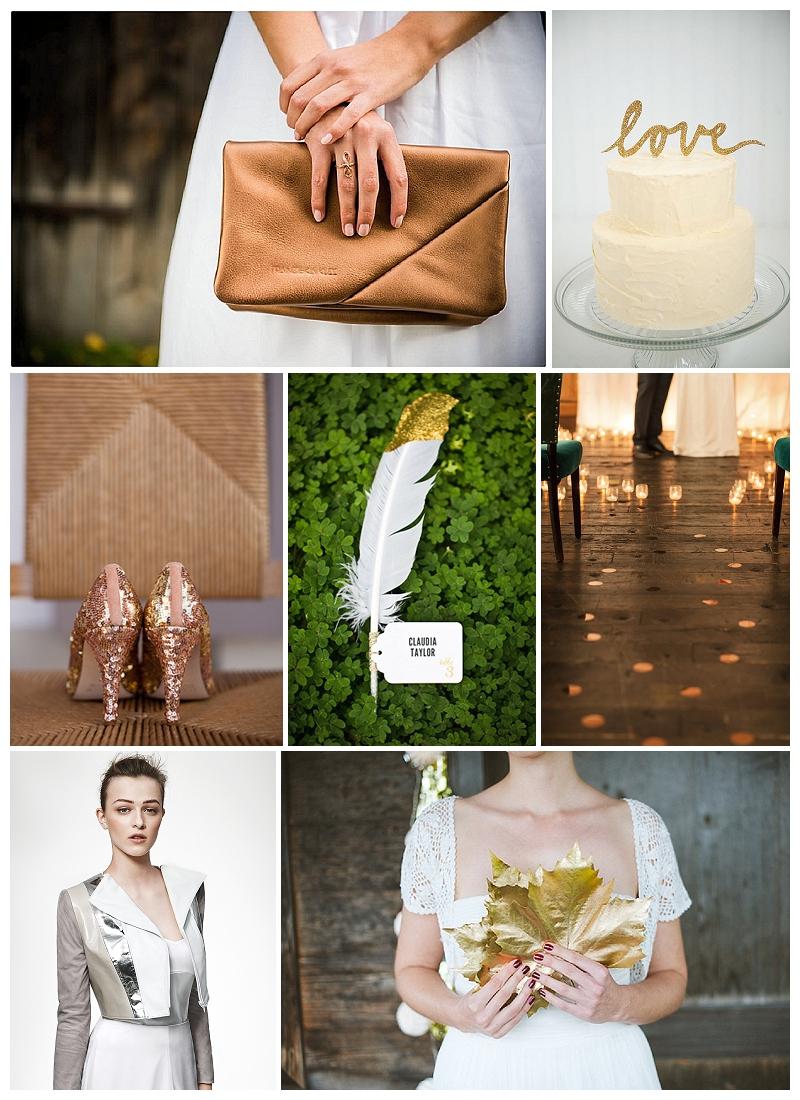 Hochzeits-Trends 2014 auf Verrückt nach Hochzeit: Kupfer, Rosegold und Co.