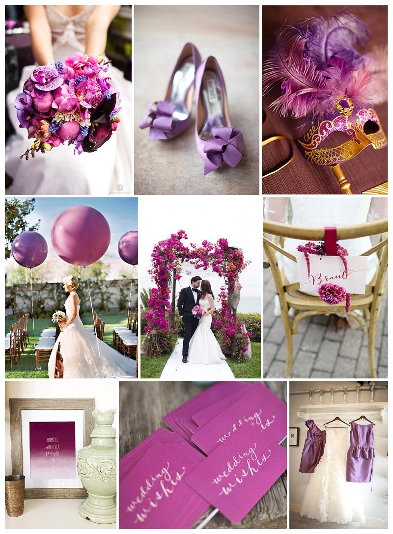Hochzeits-Trends 2014 auf Verrückt nach Hochzeit: radiant Orchid