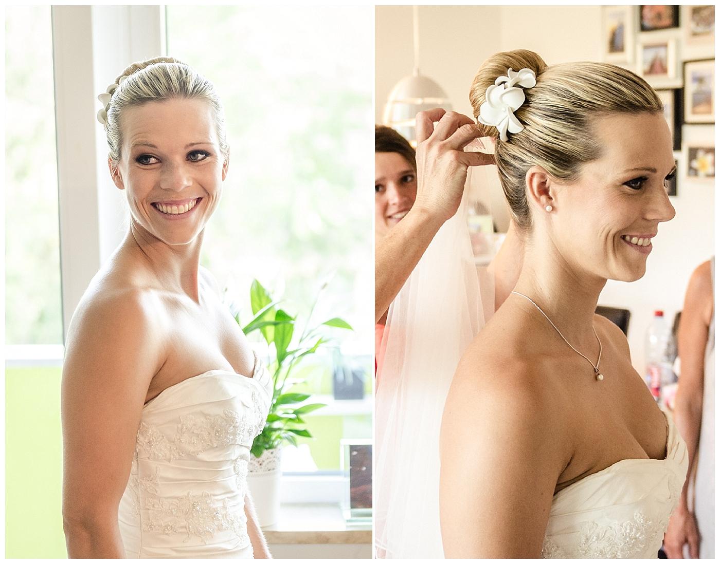 Verrueckt nach Hochzeit: Brautstyling mit Frangipani | Foto: Manuel Maurer
