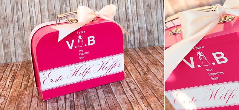 Verrueckt nach Hochzeit: Notfallkoffer für die Braut von ProjectPinpoint | Fotos: Siegrid Cain
