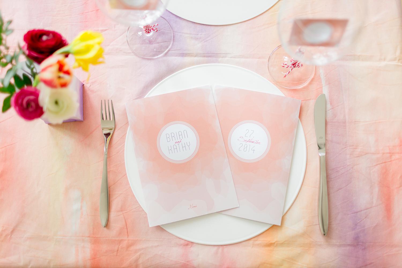 Tischdeko und Hochzeitspapeterie für Fruehlingshochzeiten von weddingeve | Foto: Susanne Wysocki | Verrueckt nach Hochzeit