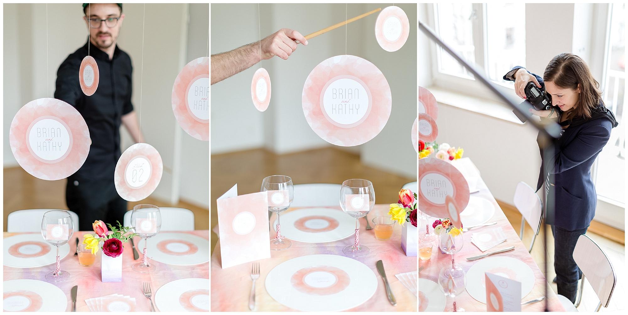 Aquarell Papeterie für Fruehlingshochzeiten von weddingeve | Foto: Susanne Wysocki | Verrueckt nach Hochzeit