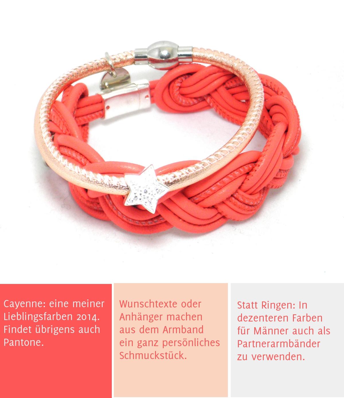 3 Gruende fuer Armbänder von Schoeniglich | Verrueckt nach Hochzeit