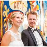 Kunterbuntes After Wedding Shooting in Zirkus