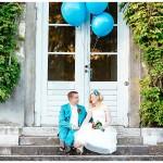 Farbenfrohe Hochzeit in Schloss Nymphenburg