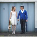 Hochzeit auf die moderne englische Art – Eine Inspiration aus der Garagenauffahrt