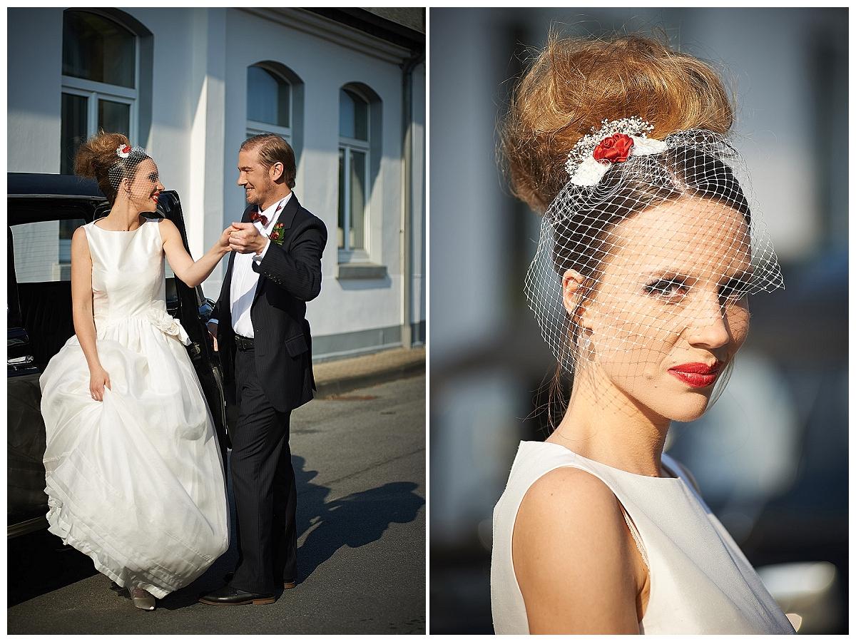 Hochzeit auf moderne englische Art - eine Inspiration aus der Garagenauffahrt | Verrueckt nach Hochzeit | Fotos: http://blog.verliebt-verlobt-fotografiert.de/