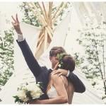 Pirat & Elfe – eine Boho-Hochzeit im Wald