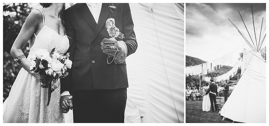 Pirat trifft Elfe - oder eine mystische Hochzeit im Wald | Verrueckt nach Hochzeit | Fotos: http://www.bonnalliebrodeur.com/