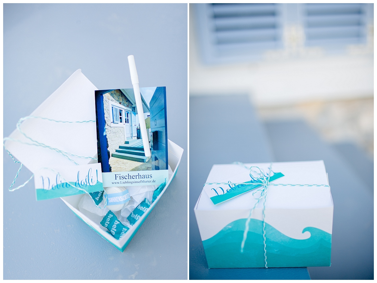 Willkommensbox für Hochzeitsgäste einer destinaltion wedding | Verrueckt nach Hochzeit | Foto: http://www.weddingmemories.de/