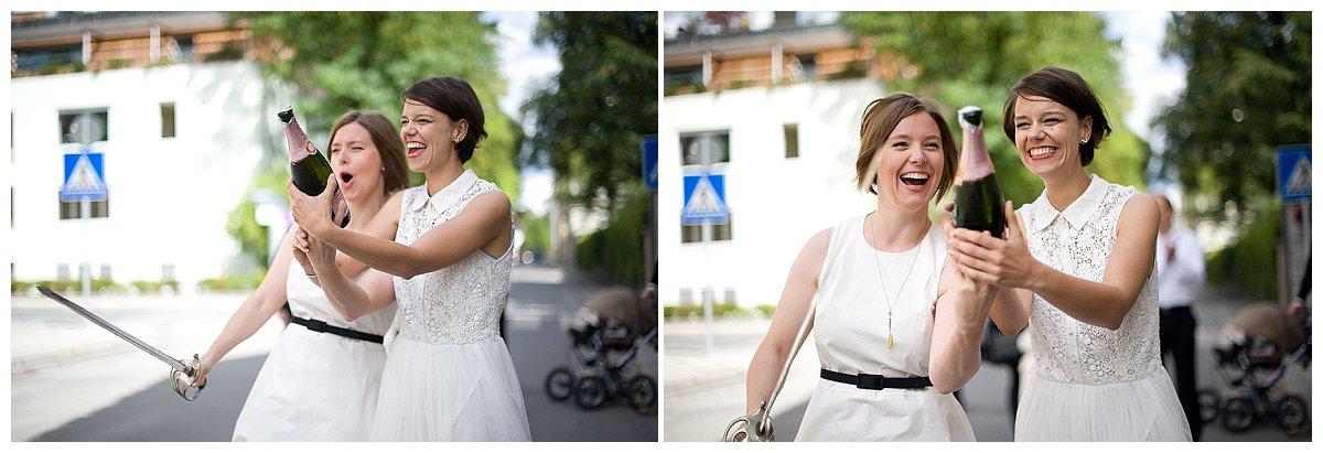 CLAIRE & JULIANNE - gleichgeschlechtliche Hochzeit in München | Verrückt nach Hochzeit | Foto: http://www.mayrafranco.com/