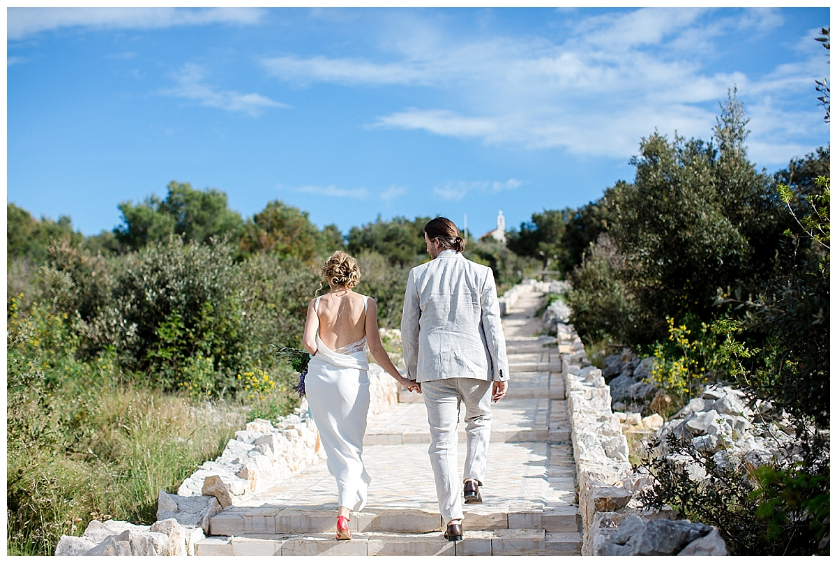 Entspannt heiraten in Kroatien - Inspirations-Shooting am  wilden Mittelmeer| Verrueckt nach Hochzeit | Fotos: http://www.weddingmemories.de/