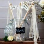 Die Verrückt nach Hochzeit-hat-Geburtstag-Woche: Wedding Wands von van harte
