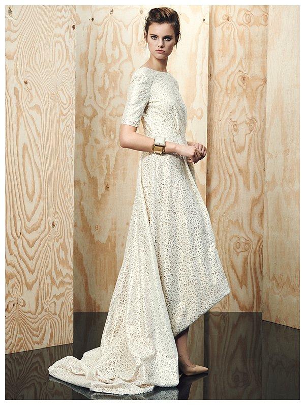 Brautmode-Trends 2015: Hochzeitskleider mit Ärmeln