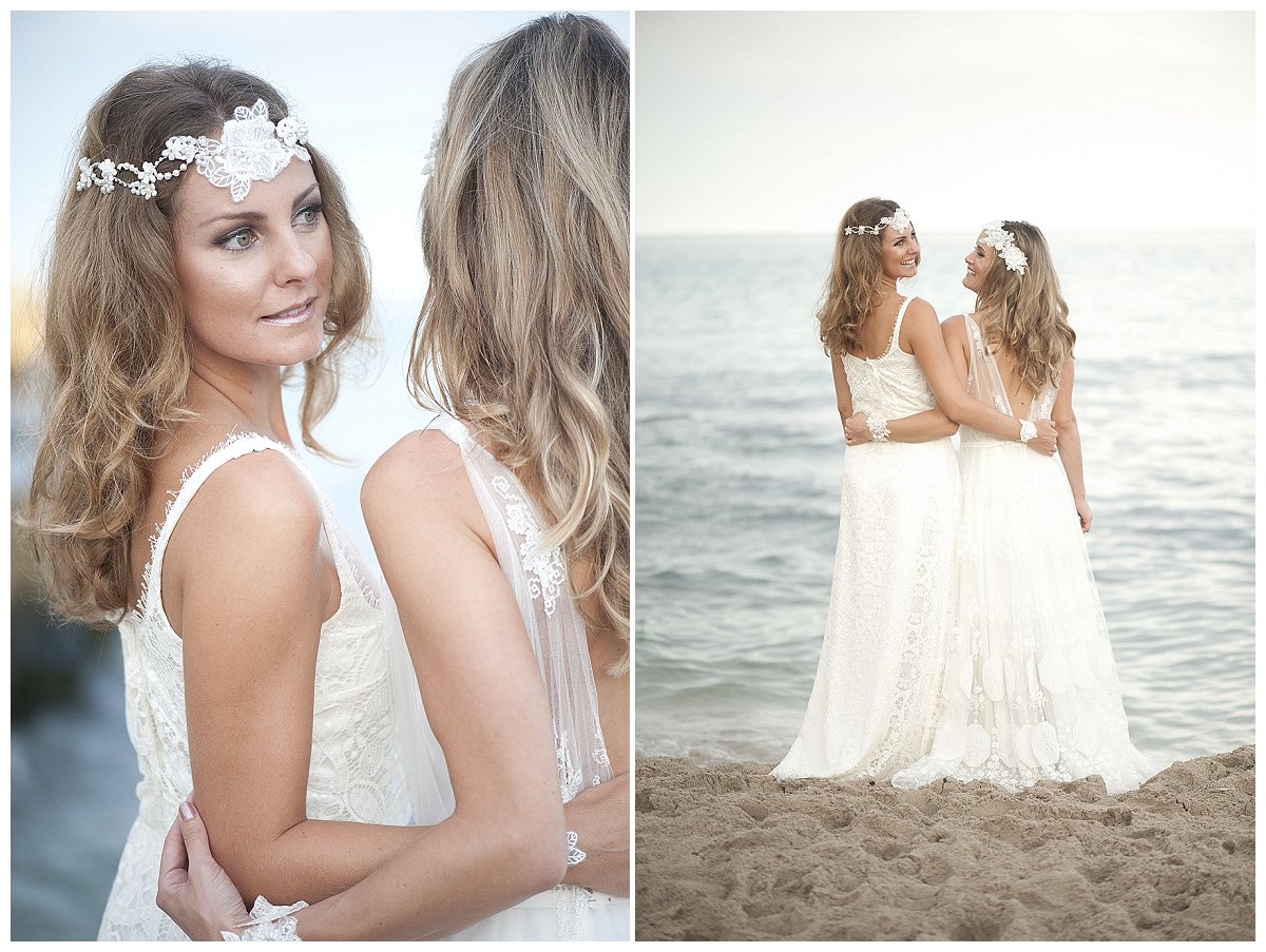 Braut haarschmuck mit schleier  Braut-Haarschmuck von La Chia - die neue Kollektion 2015 ...
