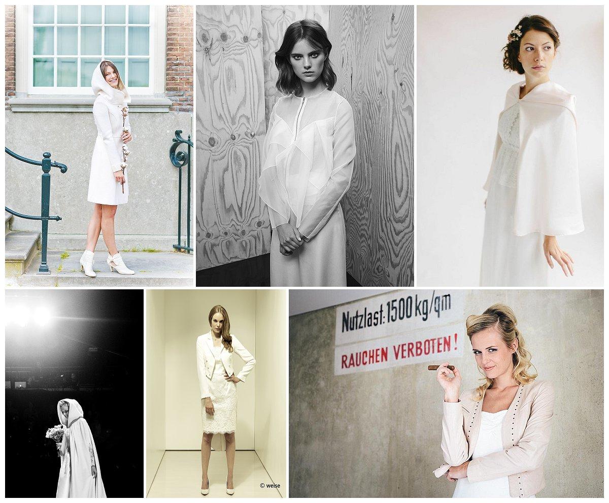Brautmode-Trends 2015: Jacken & Capes für\'s Brautkleid