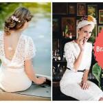 Die heißesten Brautmode-Trends 2015: Hochzeitskleider mit tiefem Rücken