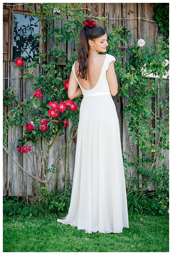 Brautmode-Trend 2015: Hochzeitskleider mit tiefem Rücken