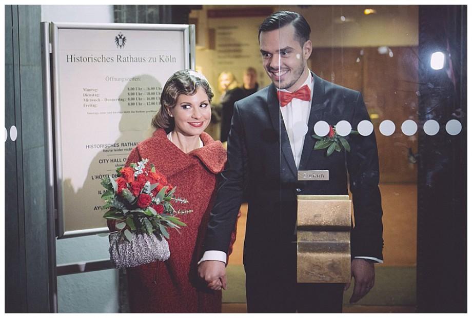 Winterhochzeit in Köln| Verrückt nach Hochzeit | Foto: http://www.hochzeitsreportagen-koeln.de/
