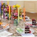 Hochzeitsinspiration im Blütenfarbenrausch