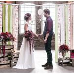 Hochzeits-Inspiration: Freie Trauung im Boho Stil