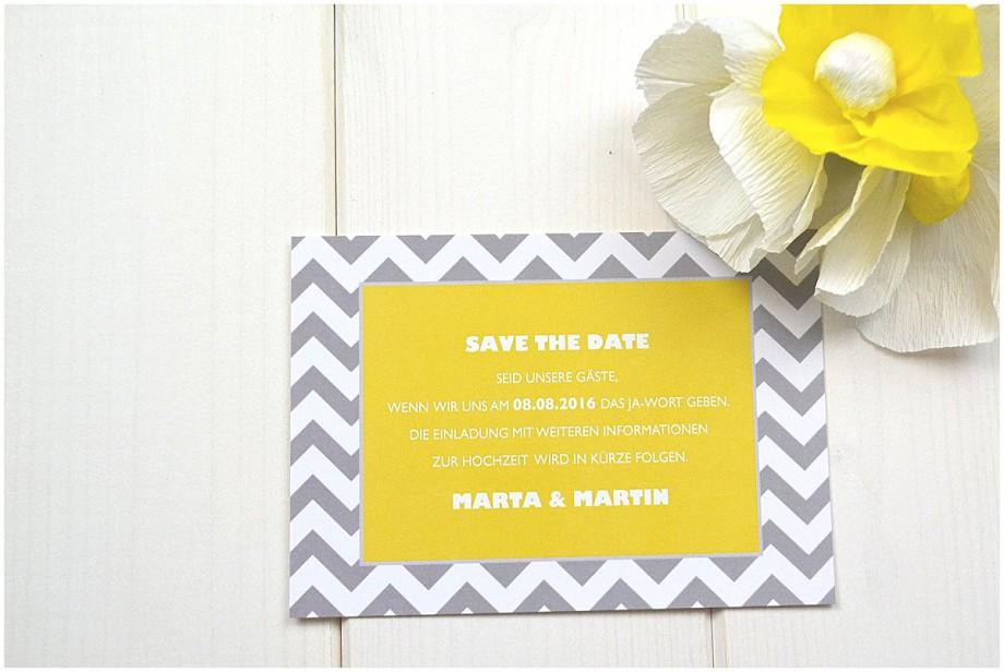 Einladungen und Papeterie für eure Sommerhochzeit von Weddingrepublic | Verrueckt nach Hochzeit