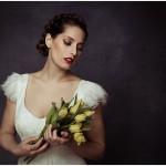 Brautstyling im Stil der alten Meister