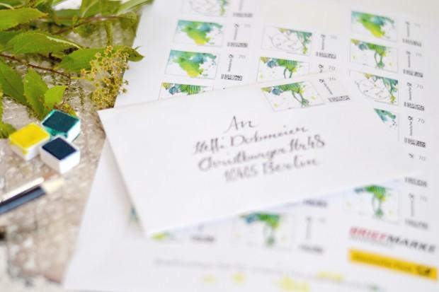 Karte_Umschlag mit Marke.