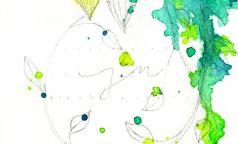"""Anleitung für Hochzeitseinladung """"Greenery meets Watercolor"""" – Schritt4"""